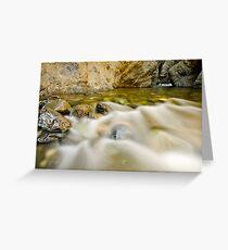 Kamloops Canyon Greeting Card