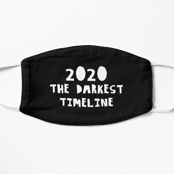 2020 DARKEST TIMELINE Flat Mask