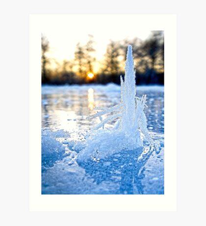 Ice Palace Art Print