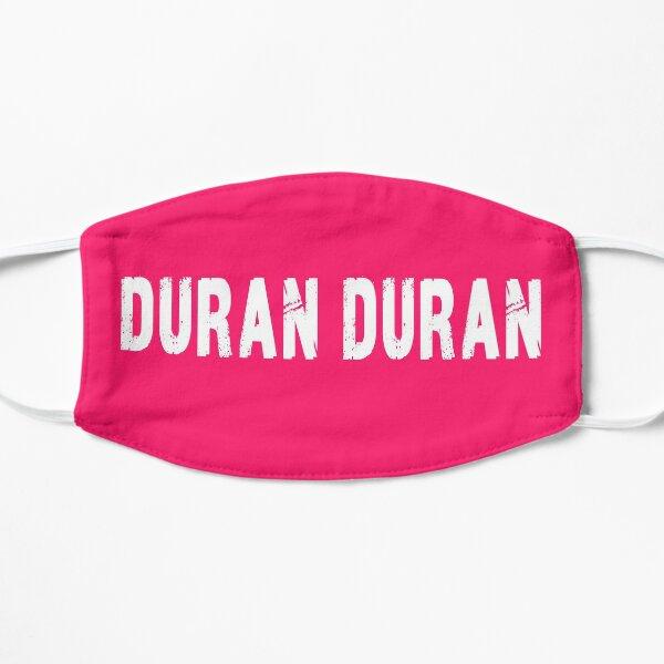Duran Duran White Print Flat Mask
