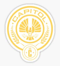 The Hunger Games Capitol Seal Sticker