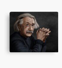 Alber Einstein Canvas Print