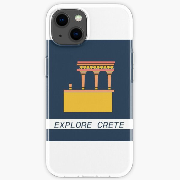 EXPLORE THE CRETAN CULTURE iPhone Soft Case