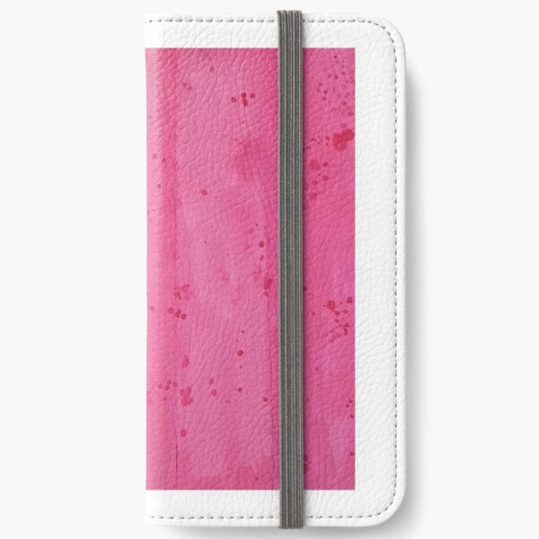 Ombre Inspired Canvas art iPhone Wallet