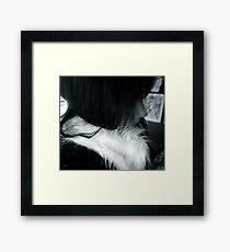 The Silence of Creativity Framed Print