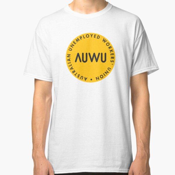 The Classic AUWU Dot Logo SOLIDARITY PRICE Classic T-Shirt