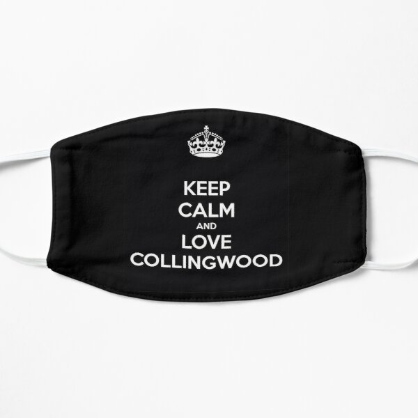 Keep calm and love collingwood - AFL - CFC Mask