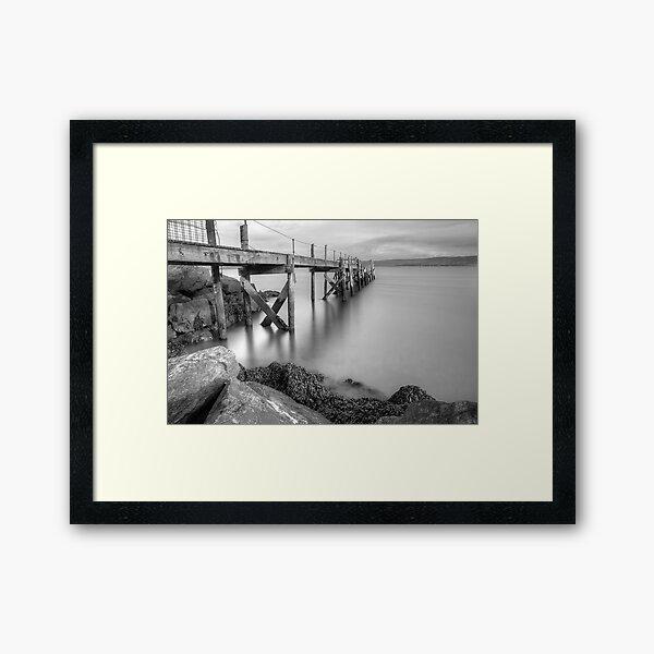 Kinnegar Jetty 2 Framed Art Print