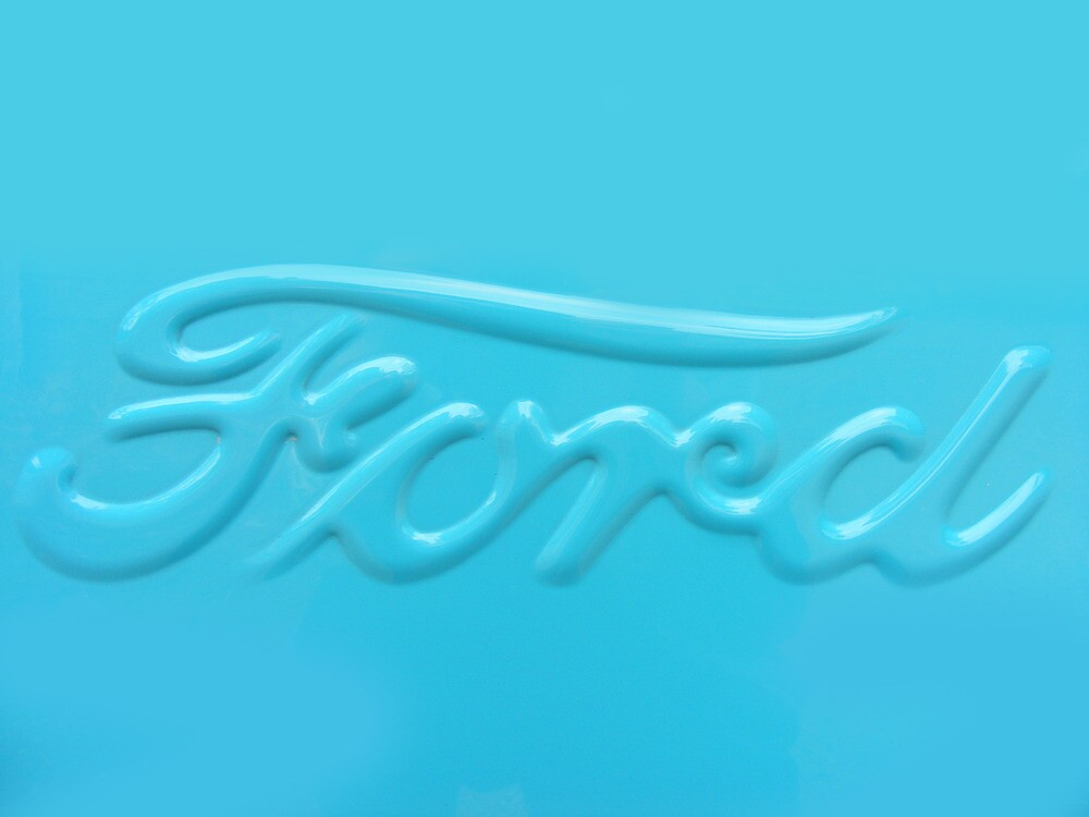 Ford Badge by Russell Voigt