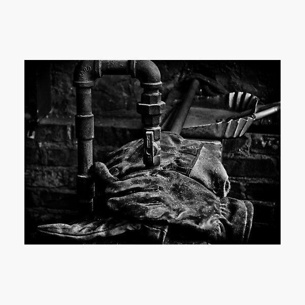 Workman's Gloves Photographic Print
