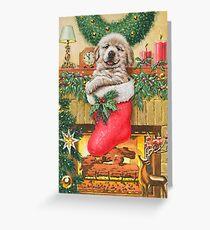 Stocking Stuffer Greeting Card
