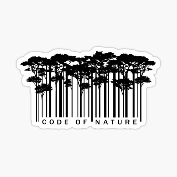 to be able to give something back to nature. Sticker