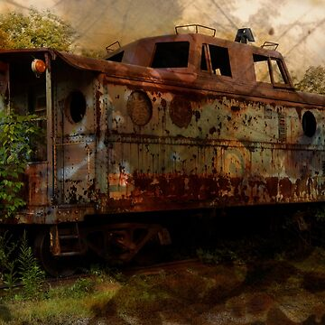 The Old Caboose by cvdad