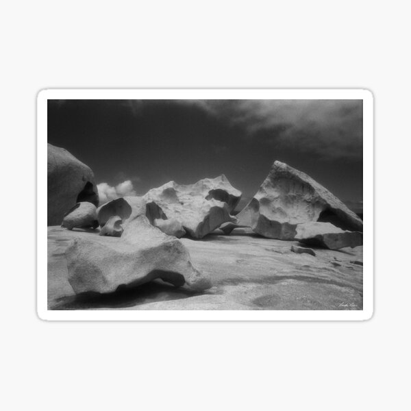 Remarkable Rocks 1 Sticker