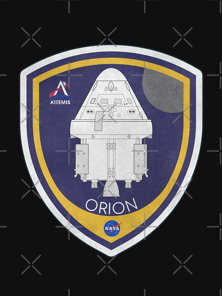 NASA Orion Badge (Artemis Program) by BGALAXY