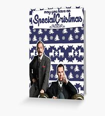 May you have an SPECIAL Xmas [Johnlock] Greeting Card