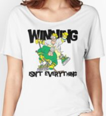 """Funny Hockey """"Winning Isn't Everything"""" Women's Relaxed Fit T-Shirt"""