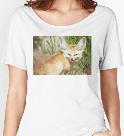 Fennec Fox Women's Relaxed Fit T-Shirt
