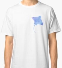 Watercolor Stingray Classic T-Shirt