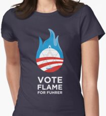 Flame for Fuhrer Women's Fitted T-Shirt