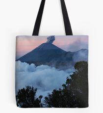 Mt Semeru at dawn. Java. Indonesia. Tote Bag
