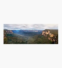 Grose Valley, Blue Mountains, Australia Photographic Print