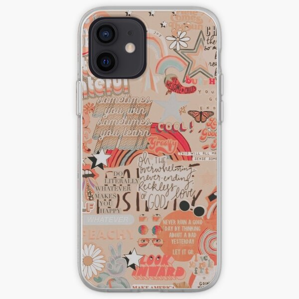 Vintage collage iPhone Soft Case
