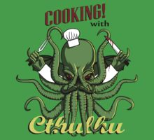 Cooking with Cthulhu | Unisex T-Shirt