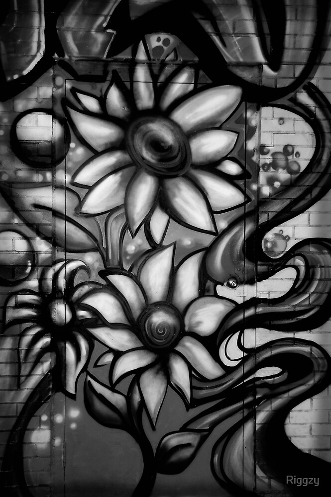Graffitti in Black and White by ShutterUp Photographics