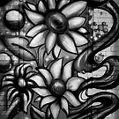 Graffitti in Black and White by Riggzy