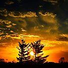 Fall Sunsets by kentuckyblueman