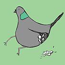 Silly Pigeon by Tara Lea