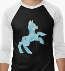 Crystal Pony (maybe Diamond I dunno) Men's Baseball ¾ T-Shirt