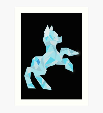Crystal Pony (maybe Diamond I dunno) Art Print