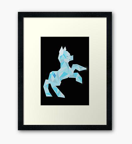 Crystal Pony (maybe Diamond I dunno) Framed Print