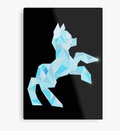 Crystal Pony (maybe Diamond I dunno) Metal Print