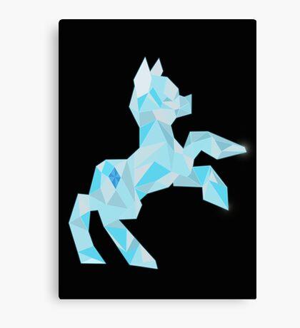 Crystal Pony (maybe Diamond I dunno) Canvas Print