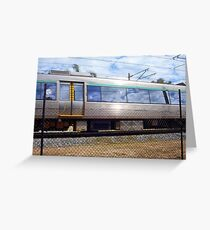 Train Photograph 02 10 12 Greeting Card