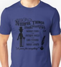 Mr. Needful Shirt (Black Print) T-Shirt