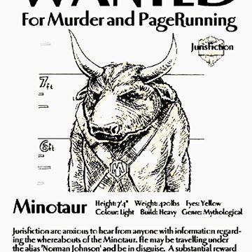 Wanted minotaur by pruine