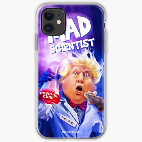 Trump Mad Scientist iPhone Soft Case