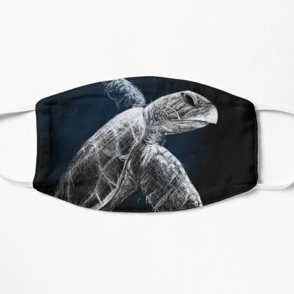 Turtle | Black Ocean Collection Mask