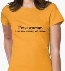 Downton Abbey best quotes series #2 Women's Fitted T-Shirt