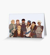 Dragon Age II Greeting Card