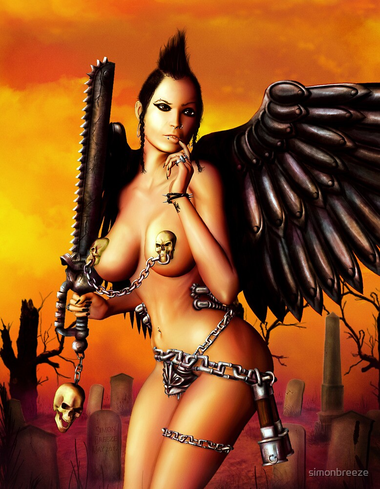 The Iron Angel! by simonbreeze