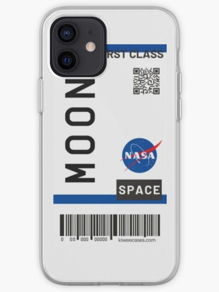 Billet d'avion pour la Lune   Coque iPhone