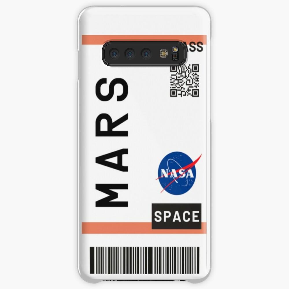 Best Seller - Mars plane ticket nasa Case & Skin for Samsung Galaxy