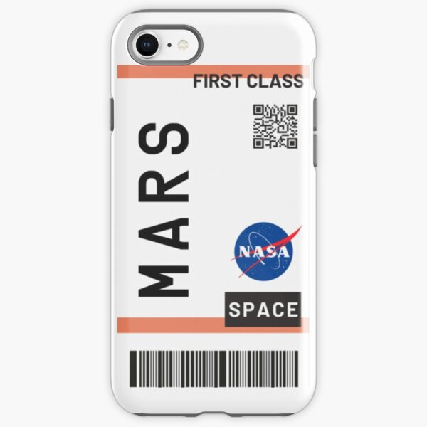 Best Seller - Mars plane ticket nasa iPhone Tough Case