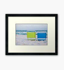 If I were a chair... Framed Print