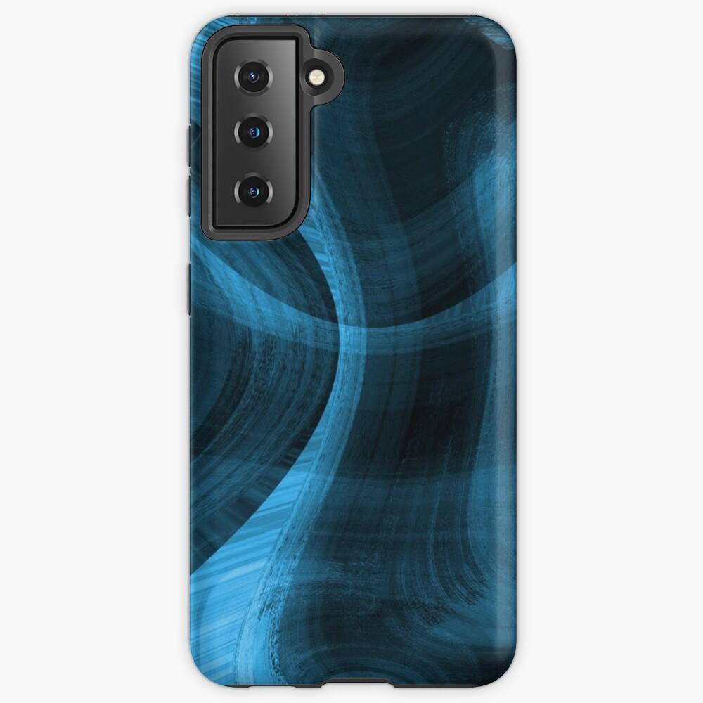 Bluish Black Hole Case & Skin for Samsung Galaxy